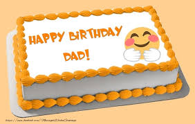 greetings cards for birthday for father happy birthday dad cake