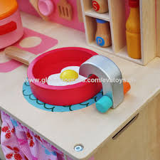 playpink cuisine china pretend play pink wooden kitchen toys from wenzhou
