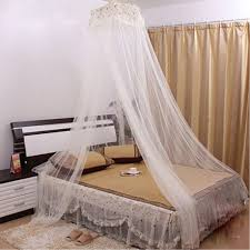 Mosquito Net Bed Canopy Bedroom Dome Shaped Bugs Mosquito Net Bed Canopy White