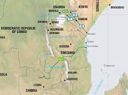 Map Of Zambia East Africa Kenya Uganda Tanzania Zambia Pipelines Map Crude