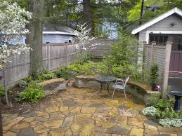 Suburban Backyard Landscaping Ideas by Small Backyard Garden Terrascapes