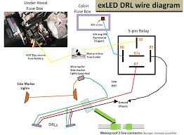 turn signal side marker lights wiring diagram wiring diagram