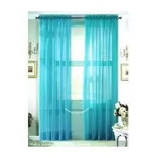Turquoise Sheer Curtains Wpm 2 Beautiful Sheer Window Elegance Curtains
