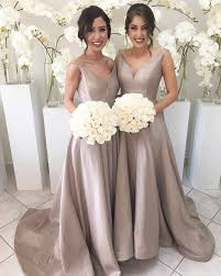 aliexpress com buy 2017 cheap v neck a line bridesmaid gowns