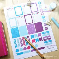 free printable life planner 2015 lilac dreams planner stickers free printable download planner