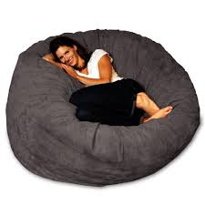 chill bag bean bags bean bag chair 5 feet charcoal
