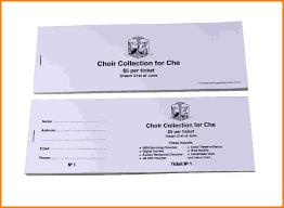 sample raffle ticket template eliolera com