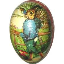 german easter decorations antique german easter egg candy container pied piper lithograph