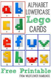 printable alphabet letter cards alphabet lego cards lowercase free printable wildflower ramblings