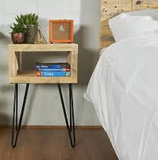 side table hairpin side table profile diy legs hairpin side