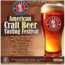 tyson u0027s biergarten beer festival