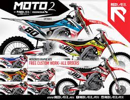 motocross helmet graphics redlabel 2017 crf graphics transworld motocross
