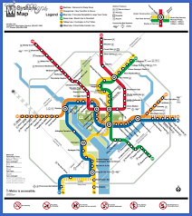 washington subway map washington subway map map travel vacations