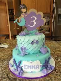 mermaid birthday cake 21 the sea mermaid cake topper set by vanillaroom