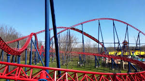 Six Flags Boston Superman The Ride At Six Flags New England Youtube