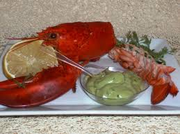 cuisiner homard surgelé recette homard et sa mayonnaise d avocat cuisinez homard et sa