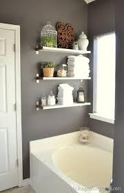 Wood Bathroom Shelves by Bathroom Shelving 1000 Ideas About Wooden Bathroom Shelves On