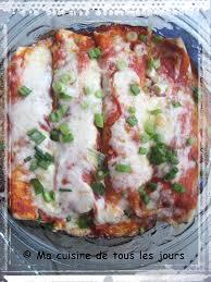 recette cuisine tous les jours enchiladas fromagés aux courgettes