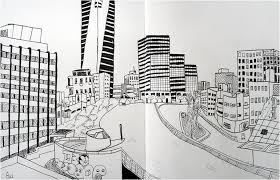 same spot different view urban sketching in tel aviv a guest