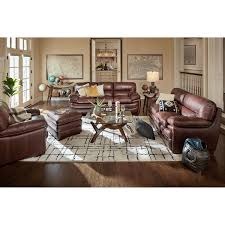 Ashley Furniture Exhilaration Sectional Italian Leather Softie Chestnut Reclining Sofa And Loveseat U2013 My