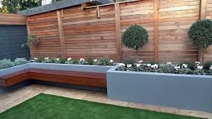 modern garden beds raised flower bed with grass google search
