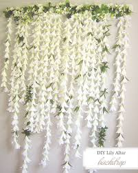 wedding backdrop altar diy easter backdrop ruffled