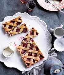 australian gourmet traveller italian dessert recipe for rhubarb