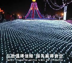 cheap 10m 8m 2600 led net light net light courtyard park