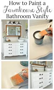 Bathroom Vanity Farmhouse Style by New And Improved Farmhouse Bathroom Vanities Little Vintage Nest