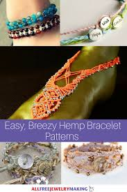 easy bracelet images 29 easy breezy hemp bracelet patterns png