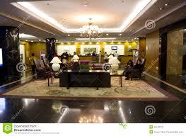 luxury hotel lobby interiors editorial photography image 35470612