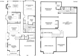 dual master bedroom floor plans astonishing two story house plans with master on floor