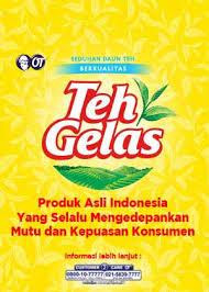 Teh Zegar teh gelas produk asli indonesia yang selalu mengedepankan mutu dan