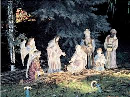 lighted outdoor nativity sets 1 jen joes design best outdoor