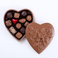 heart box of chocolates chocolate heart box walker s chocolates