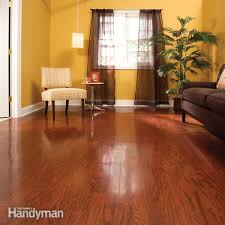How Do You Polyurethane Hardwood Floors - refinish hardwood floors in one day family handyman