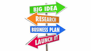 idea research business plan marketing launch new business steps 3