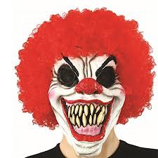 scary clown costumes xiao mo gu party mask scary