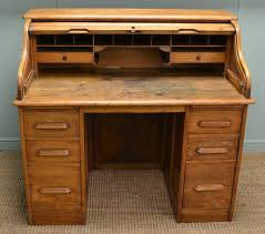 Antique Roll Top Secretary Desk by Antique Roll Top Desk Antiques World