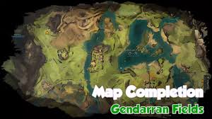 Gw2 World Map by Gw2 Map Completion Gendarran Fields Youtube