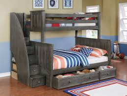 Bunk Bed With Stairs And Drawers Our Bunk Beds Kidzbedz