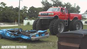 video de monster truck 4 4 raminator x mud crushes cars youtube rc adventures wheels