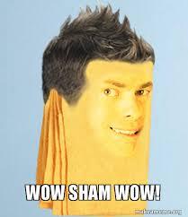 Shamwow Meme - wow sham wow make a meme