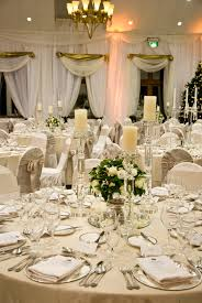 wedding table settings a gorgeous wedding table setting in the k club the neutral tones