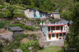 homes built into hillside a local u0027s guide to bhagsu u2014 a small hillside village greg