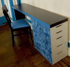 Ikea Hacker Standing Desk by Malm Headboard Vika Alex U003d Slim Desk Ikea Hackers