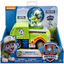 nickelodeon paw patrol rocky u0027s recycling truck vehicle
