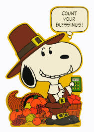 vintage thanksgiving blessings laminated snoopy thanksgiving