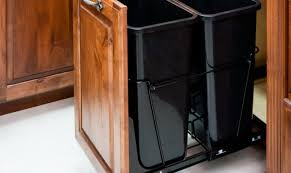 trash can attached to cabinet door kitchen kitchen cabinet trash can shining kitchen cabinet built in
