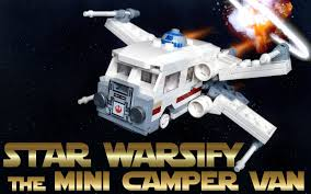 mini camper van star warsify the mini camper van building contest fbtb